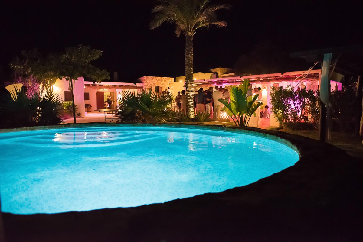 Trouwen in een villa op Ibiza